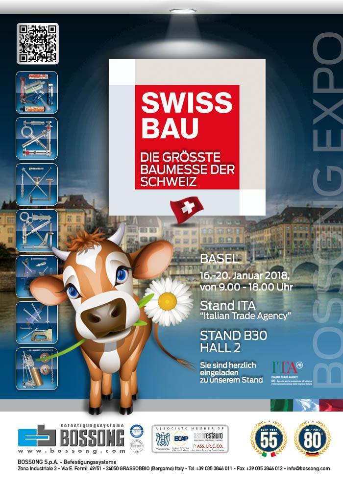 Besuchen Sie uns @ SwissBau Basel 2018